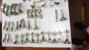 Cabinet Hinges, various types