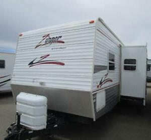 2007 ZINGER 30 BH - NO RAIN DELAY HERE!!! STAY WARM AND DRY!