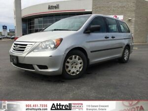 2008 Honda Odyssey DX. Power Windows, A/C, Keyless Entry