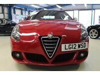 Alfa Romeo Giulietta JTDM-2 VELOCE TCT [LEATHER /BLUE & ME/CRUISE/17''s] (alfa red) 2012