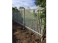 New Palisade Fencing