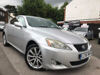 Lexus IS 220d 2.2 TD 6 Speed Manual Full Service History 1 Owner 2 Keys Leather Seats Xenon Lights