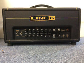 Line 6 DT25 Guitar Amp Head with hotcover