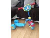 Peppa pig scooter. Good condition.