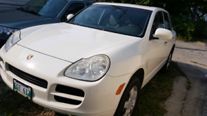 Porsche cayenne S (before parking it for winter for $11500)