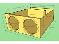Car Subwoofer Box Individual Custom Design