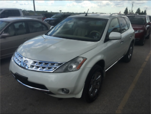 2006 Nissan Murano SE AWD1 Leather! Back Up Cam! Navigation!