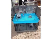 2 new hamster cages