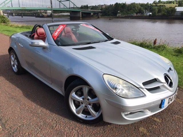 2005 D MERCEDES-BENZ SLK 3.5 SLK350 2D AUTO 269 BHP