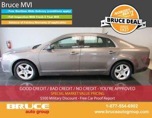 2011 Chevrolet Malibu LS 2.4L 4 CYL AUTOMATIC FWD 4D SEDAN ONSTA