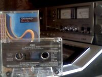FORD / SONY / VARIOUS ARTISTS - ABSOLUTELY ROCK PRERECORDED CASSETTE TAPE = 10 MEGAGOLD ROCK TRACKS.
