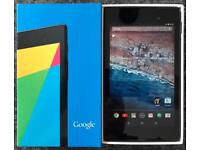 Google Nexus 7 WiFi Tablet 2nd Generation (7 inch) screen. Perfect Condition