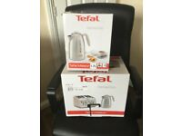 Tefal Kettle & 4 Slice Toaster Set