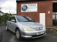 Honda Civic 1.6i VTEC SE -- LONG MOT -- DRIVES WELL