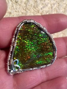 Ammolite brooches -reduced:)