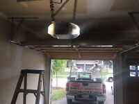 Garage door services and installation