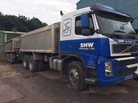 Volvo FM400 lorry and drag long test ready to work