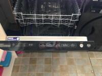 Beko black dishwasher- like new, good condition hardly used