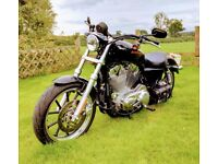 Harley Davidson, 883 supper low, 2012 for sale.