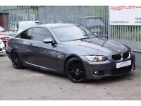 BMW 3 Series 320 Coupe 2.0i 170 M Sport A6 Petrol grey Automatic