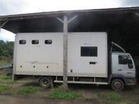 7.5t Horsebox R Reg, MAN