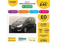 Ford Galaxy Zetec FROM £45 PER WEEK!
