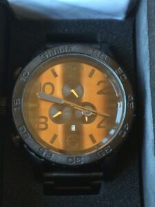 Nixon Tiger's Eye Watch