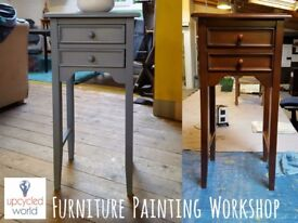 Learn How to Paint Your Furniture! Sat 29th July 12-4.30pm