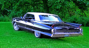 RIDE IN STYLE FOR YOUR WEDDING OR EVET 1962 CADILLAC