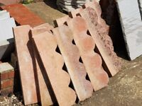 Paving slab edge stones