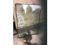 Assorted window glass