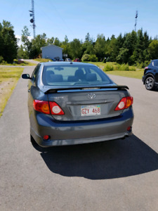 2010 Toyota Corolla Sport, winter tires and rims included