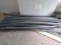 Foam pipe lagging