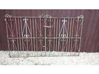 Iron Garden/Driveway Gates 7f x 4ft