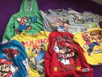Super Mario tops