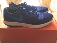 Blue Nike Flex Experience 5 Junior UK Size 5 (Great Condition) box included was £20 NOW £15
