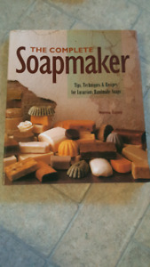 Soap making book and molds