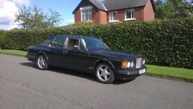 1995 bentley turbo R ( red label )