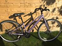 ladies apollo haze hybrid road bike hardly used