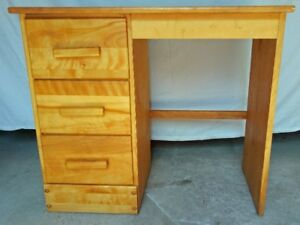 Wooden desk - sewing machine table, student desk....