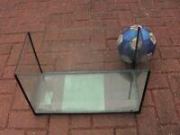 repaired Clear glass fish tank aquarium 37L wembley kot