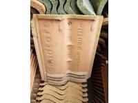 Sandtoft double Pantile roof tiles