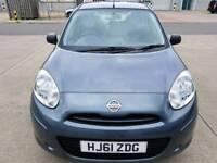New shape Nissan micra visia,1.2L,1year mot,1 owner since New,63k miles,2 remote keys,5 Door