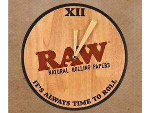 RAW Wood Clock