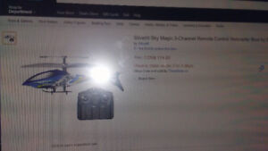 Silverlit RC helicopter make an offer.