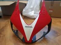 Honda fireblade cbr1000rr rr7 2007 nose fairing