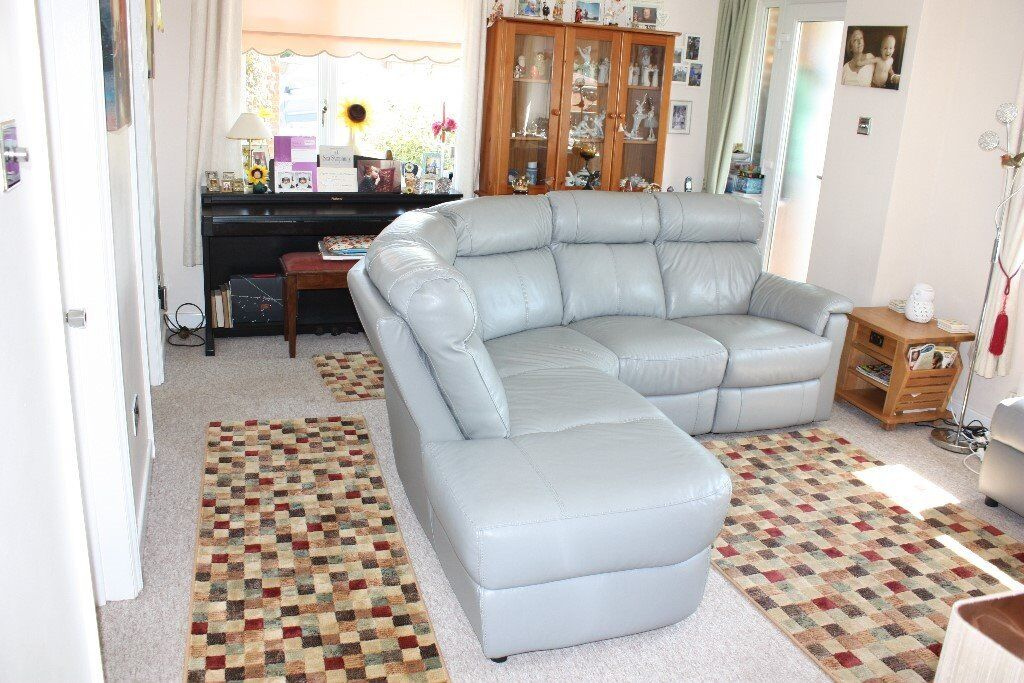 Dfs Ellis 2 Piece Electric Recliner Corner Sofa Leather