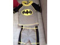Batman 2piece swimsuit