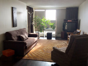 Furnished 2 bedroom 2 bathroom. Walk to UofA, Whyte, downtown