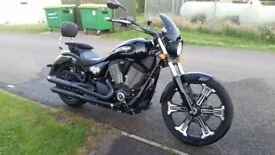 Vegas 8 Ball full service hist, recently serviced, sissy bar, flyscreen, tank pad, one owner.
